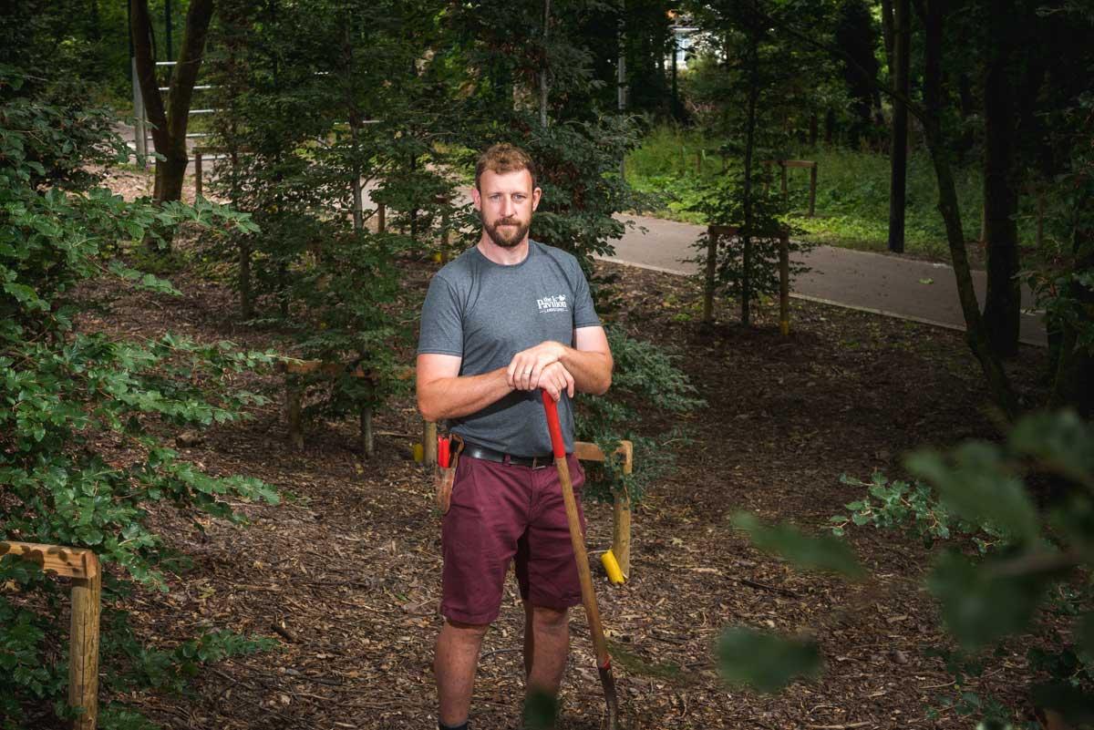 Jack Hedigan Pavilion Landscapes Landscaping Foreman