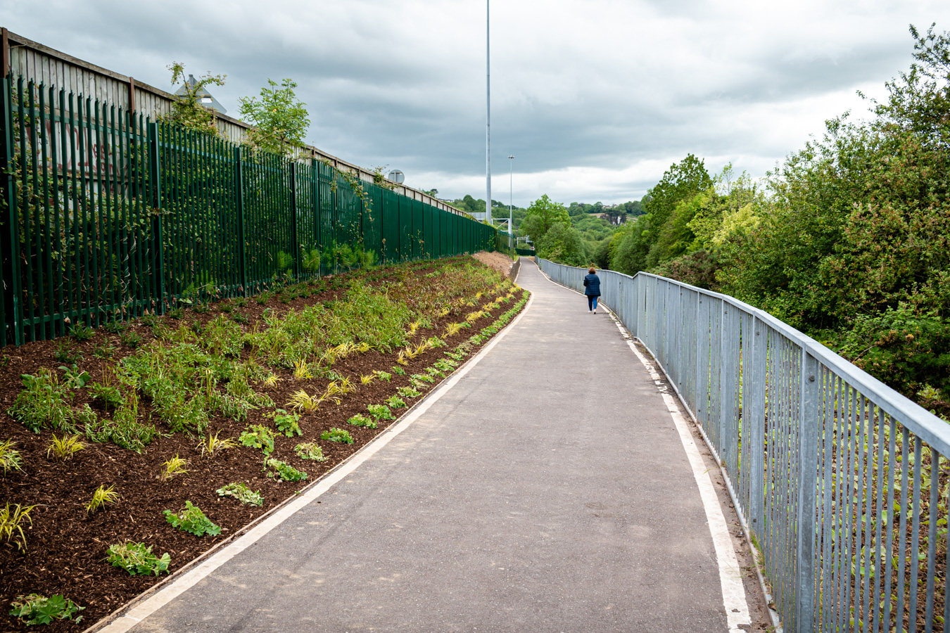 Tramore Valley Park Pedestrian and Cycle Link – Works